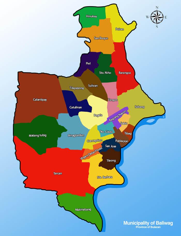 Geography Nature Baliwag Bulacan - Bulacan map philippines