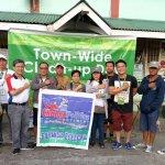 MENRO Leads Barangka Clean up
