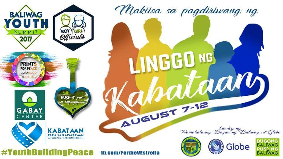"""Linggo ng Kabataan 2017 """"Kabataan para sa Kapayapaan"""""""