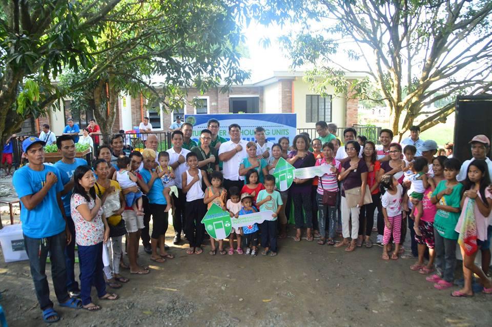 30 PAMILYA BALIWAGENYO, BENEPISYARYO NG CFC-ANCOP HOUSING PROJECT