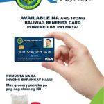 Available na ang inyong baliwag benefits card