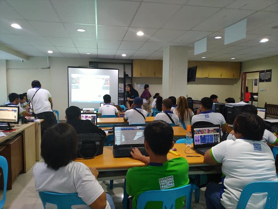 DICT eBPLS Users Training at Baliwag, Bulacan